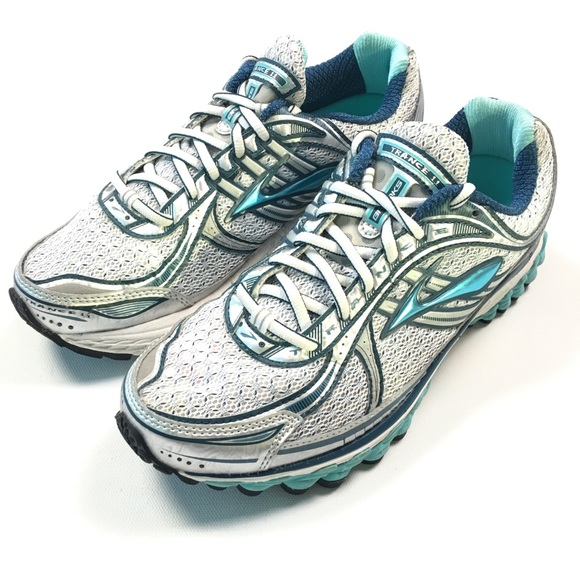 462fd1e2a96 Brooks Trance Blue Grey Shoes Running Sneakers C86